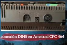 Añadir conexión DIN5 a Amstrad CPC 464 16
