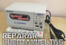 Reparar el cuentavueltas de un reproductor de cintas 19