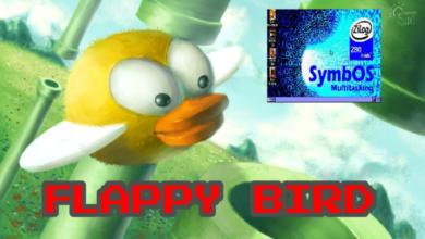 Flappy Bird para SymbOS 5