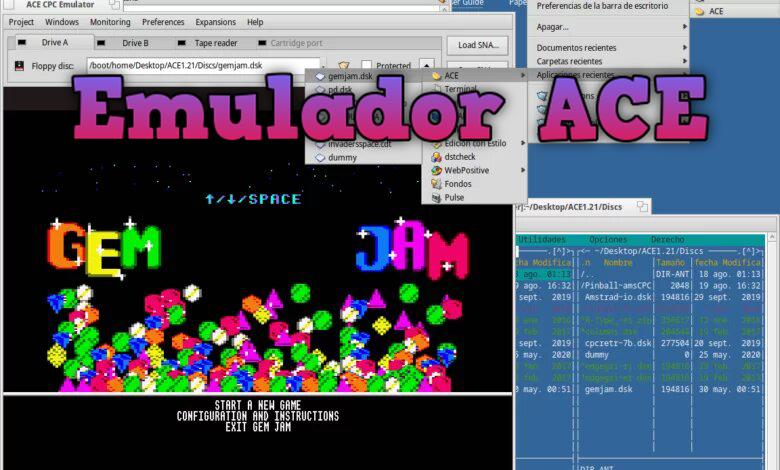 ACE, emulador de Amstrad CPC para Morphos y Haiku 2