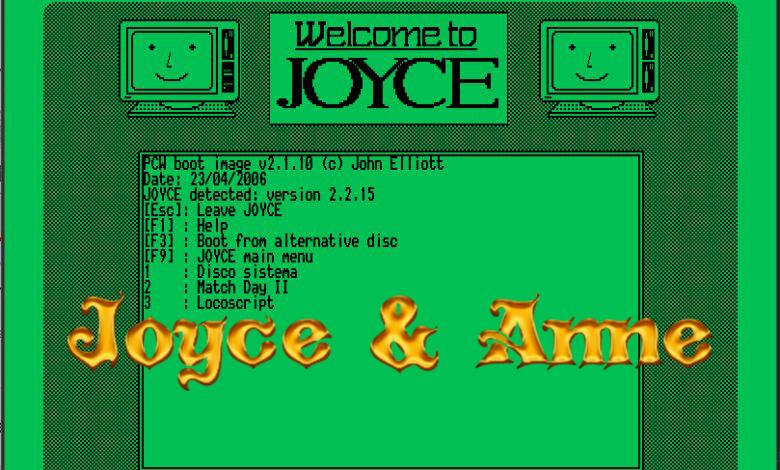 Joyce/Anne: emulador libre y multiplataforma de Amstrad PCW 4