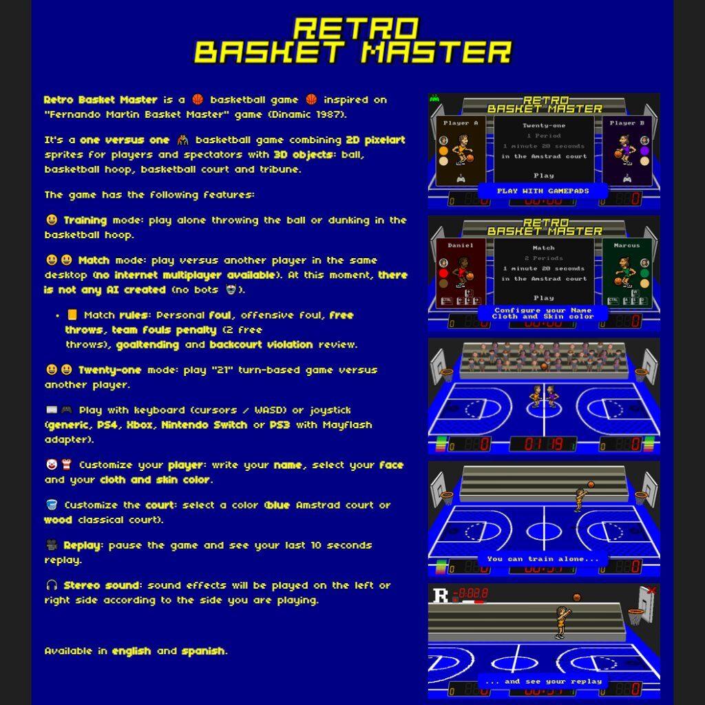 Retro Basket Master 2