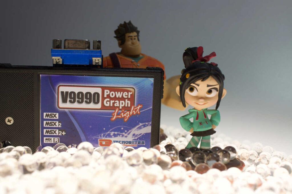 Chip V9990 - el poder del trueno 2