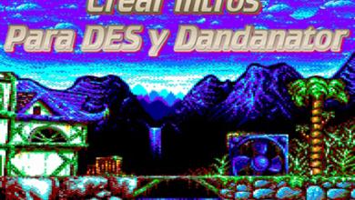Como hacer juegos con intro para Dandanator CPC y DES 2