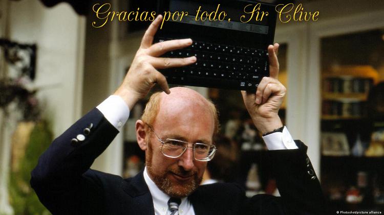 Gracias por todo Sir Clive Sinclair 1