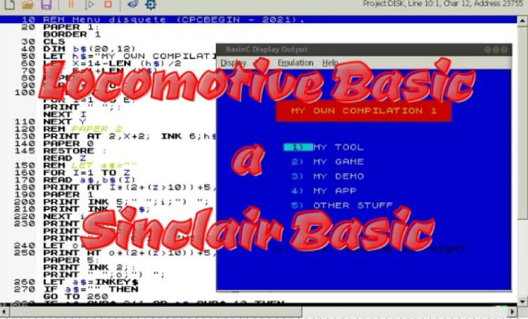 De Locomotive Basic a Sinclair Basic 1