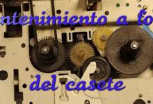 Mantenimiento a fondo del reproductor de casete del CPC 464 12