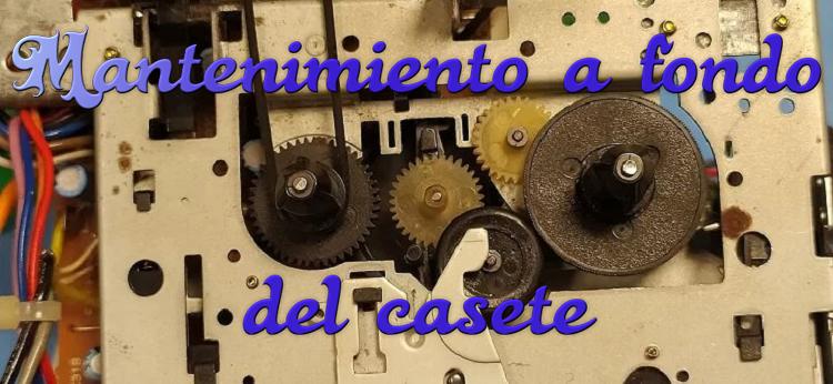 Mantenimiento a fondo del reproductor de casete del CPC 464 1