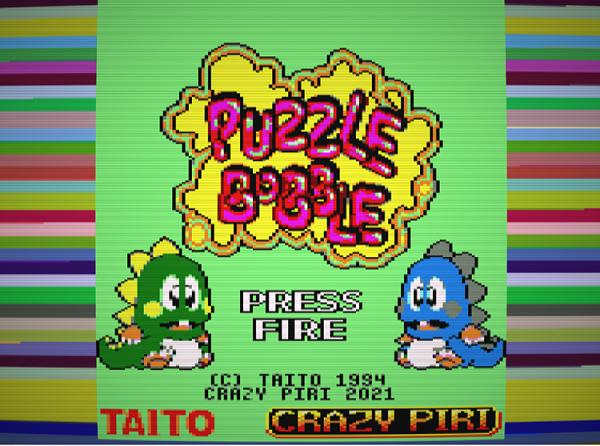 Conversión de Puzzle Bobble para CPC 1